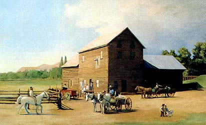 Old Reynolds Mill, Ashley Valley, 1880