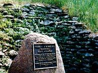 Blockhouse marker