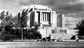 The Alberta Temple in 1919