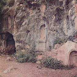 Stone Niches for the God Pan