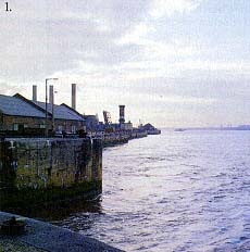 Albert Docks, the River Mersey, Liverpool