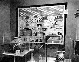 Objects in the museum