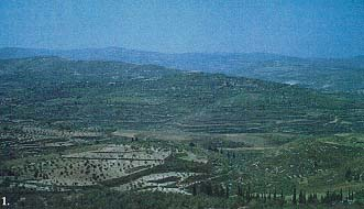 Site of the Kingdom of Israel when moved from Tirzah