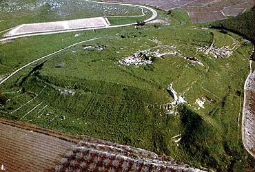 Looking southeast toward Tel Lachish