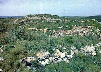 This northern view of Tel Lachish