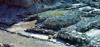 The Canaanite altar at Megiddo