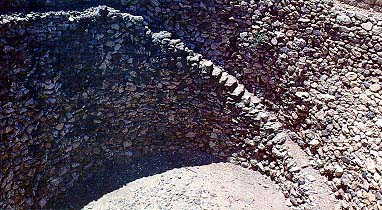 Grain silo was built by King Ahab at Megiddo