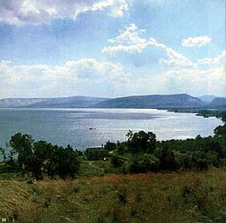 The Shore of the Sea of Galilee