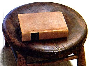 Footstool of the Prophet's mother, Lucy Mack Smith