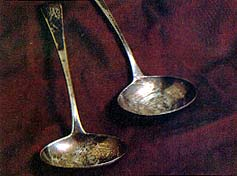 Ladles from the Nauvoo Mansion House