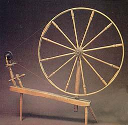 Emma Smith's spinning wheel