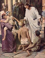 Healing of the Blind Men