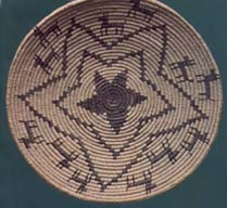 A Hualapai basket  made by the late Tim McGee