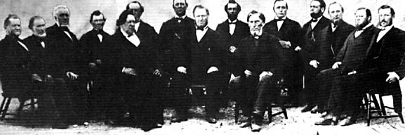First Presidency and the Quorum of the Twelve, 1868 or 1869