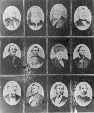 Members of the Quorum of the Twelve, ca. 1870