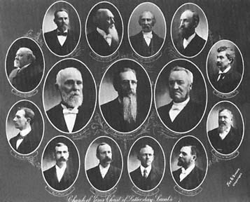 The First Presidency and the Quorum of the Twelve, late 1901 or 1902