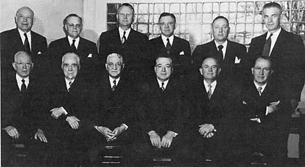 The Quorum of the Twelve, 1952
