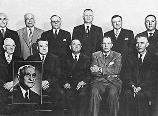 The Quorum of the Twelve, April 1953