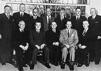 The Quorum of the Twelve, ca. 1954–57