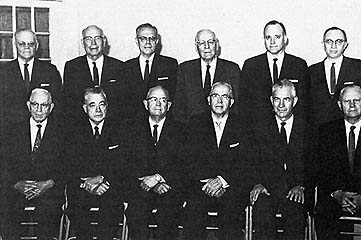 The Quorum of the Twelve, October 1961