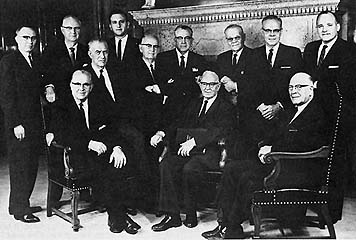 The Quorum of the Twelve, April 8, 1965
