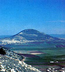Mount Tabor and the Jezreel Valley