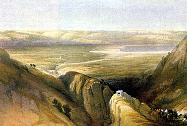 The Valley of the Jordan and the Dead Sea