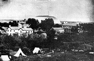 Salt Lake City in the 1860s
