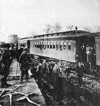 The first train to Salt Lake City