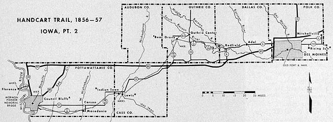 Handcart Trail, 1856–57 Iowa, Pt. 2