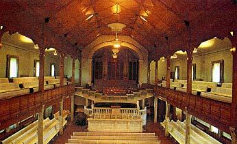 Interior of the Paris Idaho Stake Tabernacle