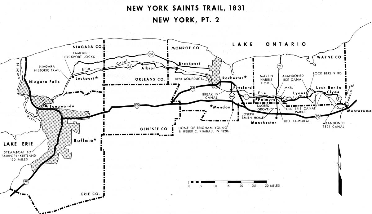 New York Saints Trail