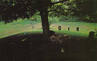 cemetery across from the Kirtland Temple