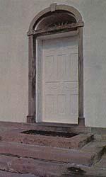 Kirtland Temple door