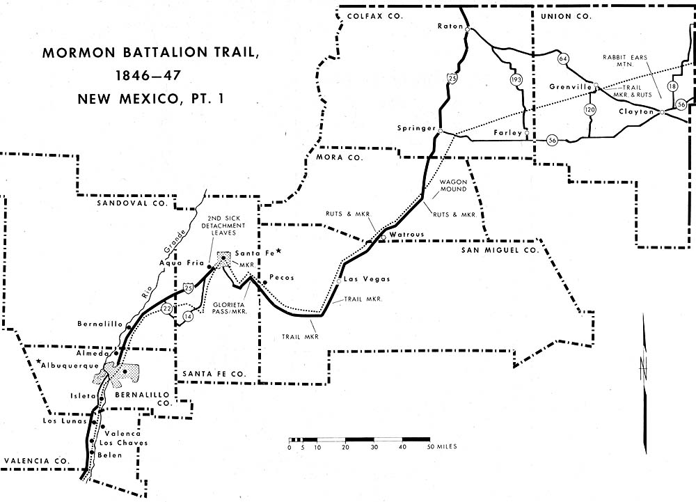 Mormon Battalion Trail