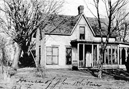 John Whitmer's home in Far West