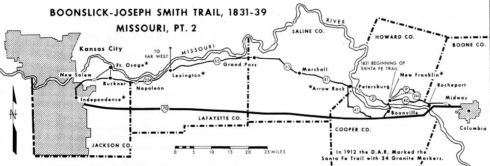 Boonslick-Joseph Smith Trail