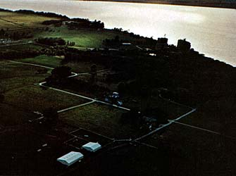 Aerial view of Nauvoo