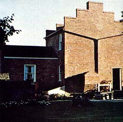 Brigham Young's brick home