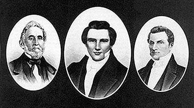 First Presidency occurred on 7 November 1837