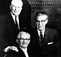 The First Presidency on 4 Oct 1963