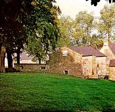 A tithe barn
