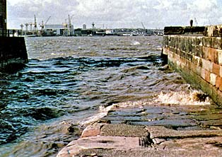 Liverpool harbor