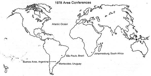 1978 Area Conferences