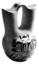 A Hopi wedding vase