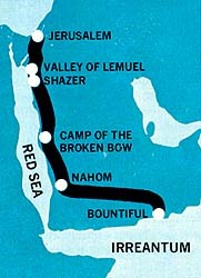 Probable Lehi trail