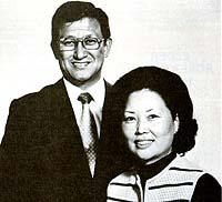 Elder Adney Y. and Sister Judy Komatsu