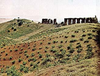 Roman aqueduct at Lystra