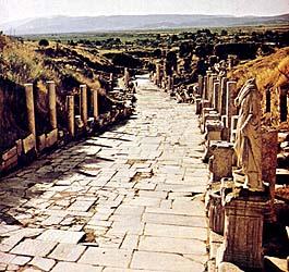 Street of Ephesus