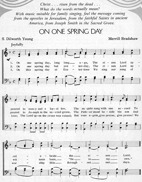 music, On One Spring Day